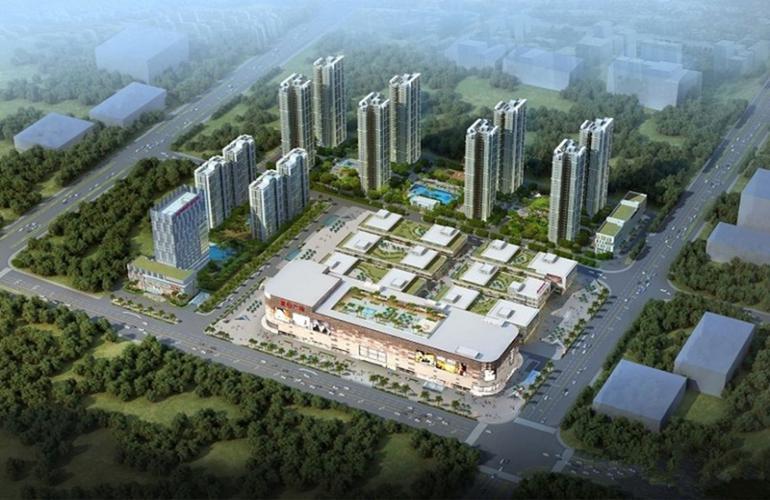 儋州夏日国际商业广场效果图